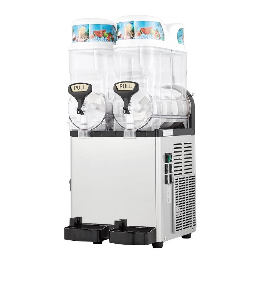 What Is The Best Slush Machine to Buy in Australia?    People often ask what is the very best slush machine to purchase or lease in Australia.  The best slush machine is one that is very reliable, sturdy and easy to use and ready to plug in as soon as you receive it. ICETRO Slush Mahcines from Australian Slush Machines are the BEST slush machines in Australia because parts are always available and they are a strong, well made slush / granita machine made to commercial quality and built to last. They also have an exclusive lifetime parts warranty*  Voted the TOP No.1 Slush Machine in Australia 2020, The SSM280 (2x12 litre) Slush Machine is the most popular model.  Whether you want a Slush Machine for your business or a Slush Machine for Home use, the ICETRO Slush Makers are solid and basically maintenance free except for a weekly 10 minute cleaning regime.   5 Star Rating ***** 240v Standard Power Supply. AU plug. Available Now!