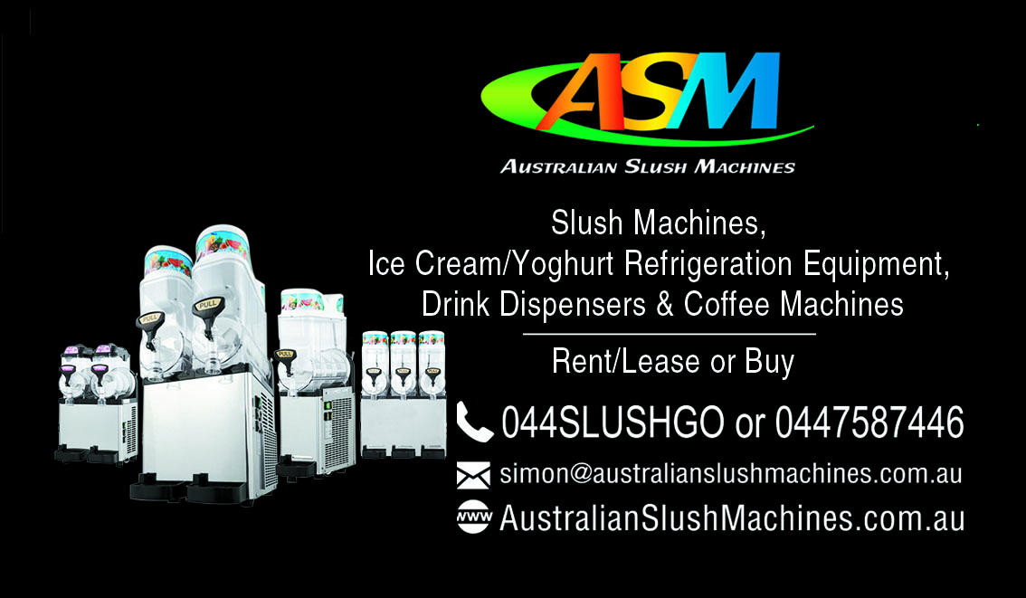 School Slush Machines & Juice Mix Syrup