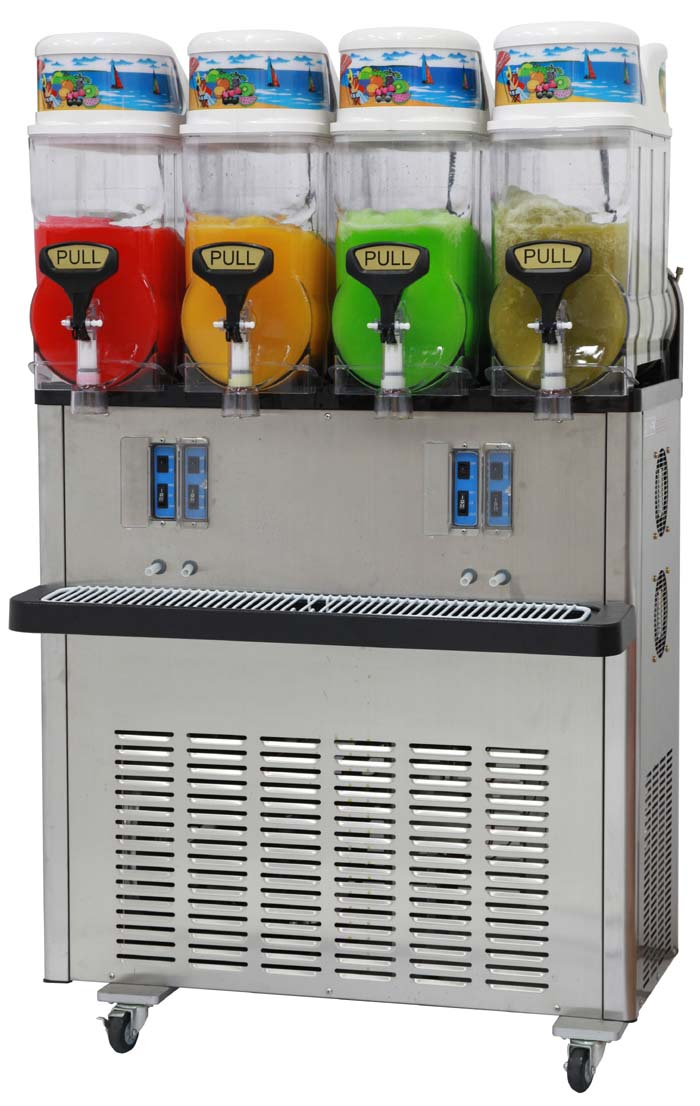 Four Bowl x 12 Litre Slush Unit For Sale