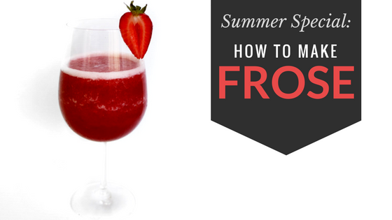 How to Make the Perfect Frose in a Slush Machine