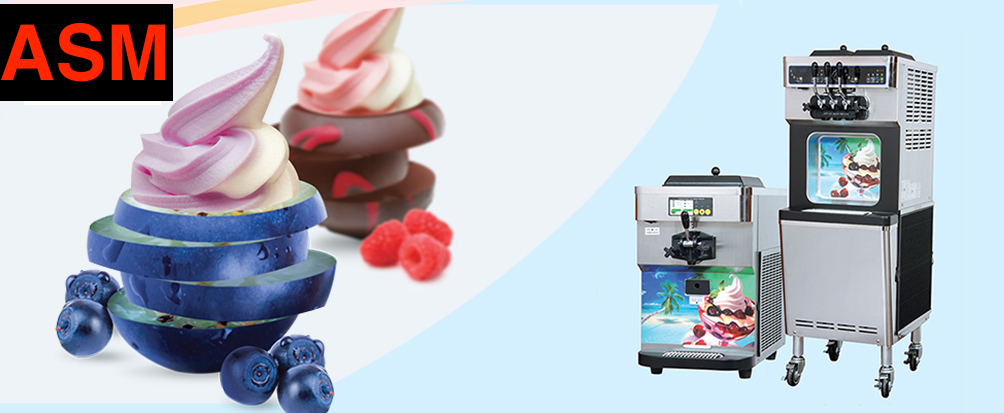 Buy Or Rent Ice Cream Machines & Soft Serve Yoghurt Units to make Yogurt or Soft Serve Icecream